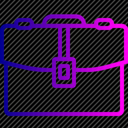 bag, briefcase, carry, case, folder, office, portfolio icon