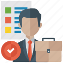 project management, project manager, project planning, project process, project workflow icon
