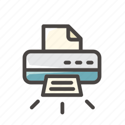 document, file, office, paper, print, printer, sheet icon