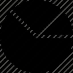 chart, data, pie, visualisation icon