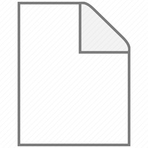application, blank, office, page icon
