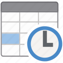 application, datetime, office icon