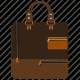 bag, business, case, office bag, portfolio, shopping icon