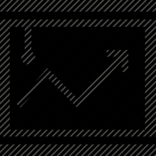 business, chart, graphic, minimalist, office, presentation, professional icon