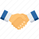 agreement, business, contract, deal, handshake, partnership, shakehand icon