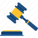 achievement, action, auction, decision, hammer, law, lawsuit icon