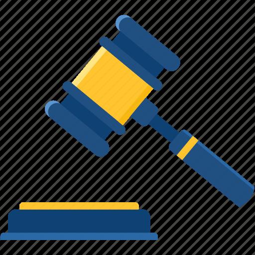 achievement, action, auction, decision, hammer, law, lawsuit icon