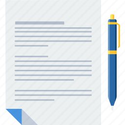 business, contract, document, documents, file, page, paper icon
