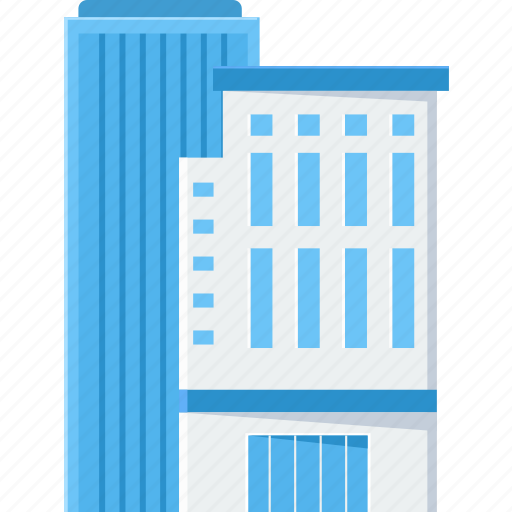 building, business, city, estate, office, office building, real icon