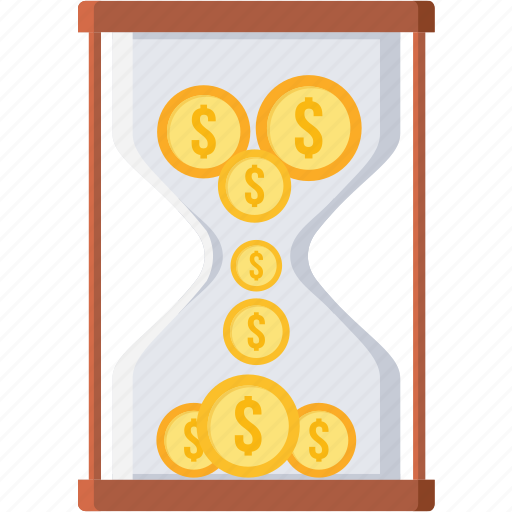 deadline, hourglass, revenue, sandglass, timing, wait icon