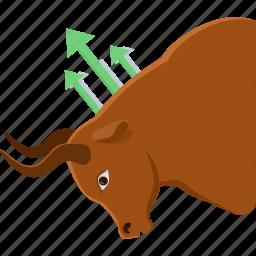 aggressive, agressive, bulls market, bullsmarket, market, share market icon
