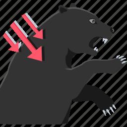 aggressive, agressive, black market, black marketing, market, share market icon