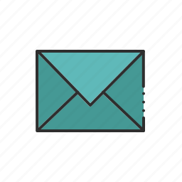 communication, email, envelope, letter, message icon