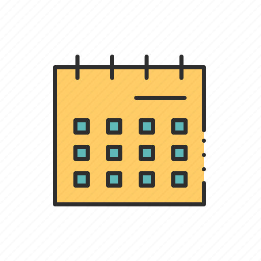 appointment, calendar, date, month, planner, timetable, timing icon