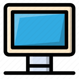computer, desktop, laptop, monitor, screen icon