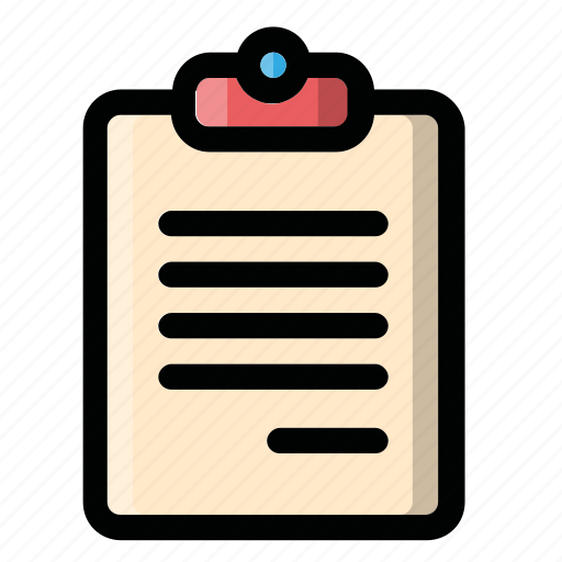 doc, file, list, page, text icon