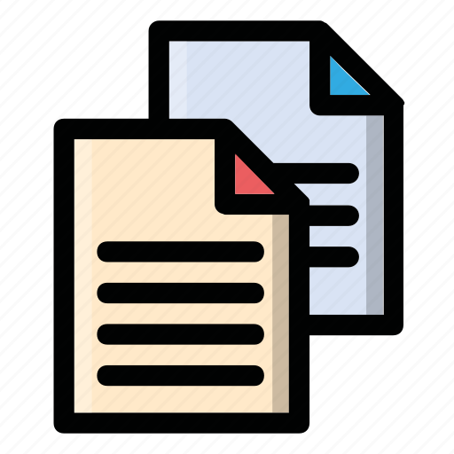 documents, files, info, list, text icon