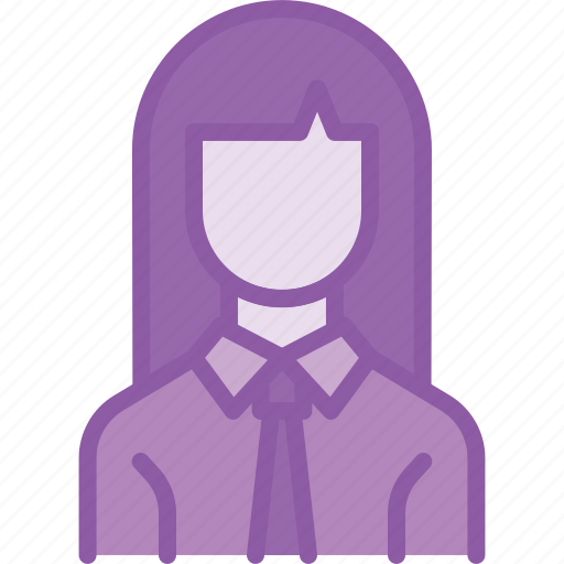 avatar, businesswoman, employee, woman, worker icon
