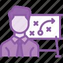 goal, graph, presentation, report, statistics, tactics