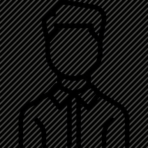 avatar, businessman, employee, man, worker icon