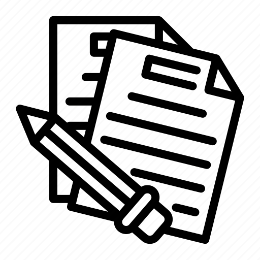 document, file, important, memo, report icon