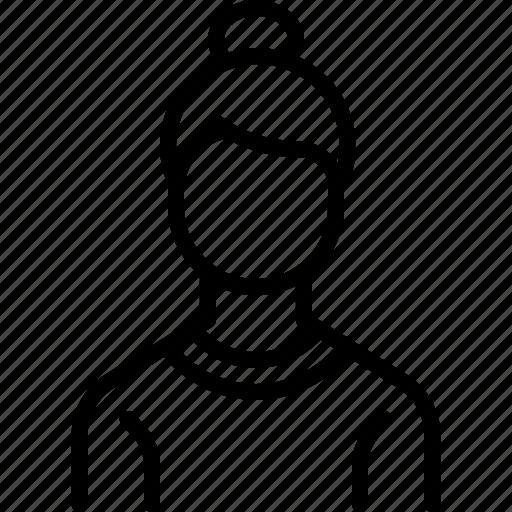 avatar, employee, lady, office, staff, woman, worker icon