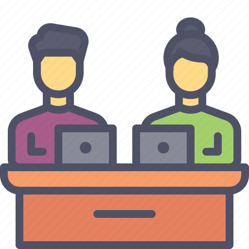 group, meeting, office, team, work icon