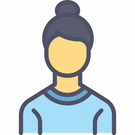 avatar, employee, lady, offie, staff, woman, worker icon