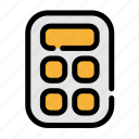 business, calculator, office icon