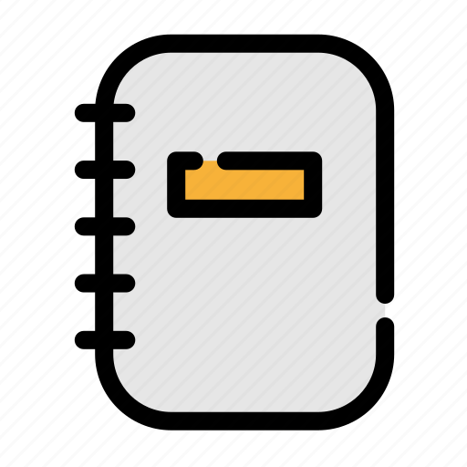 business, note, notebook, office icon