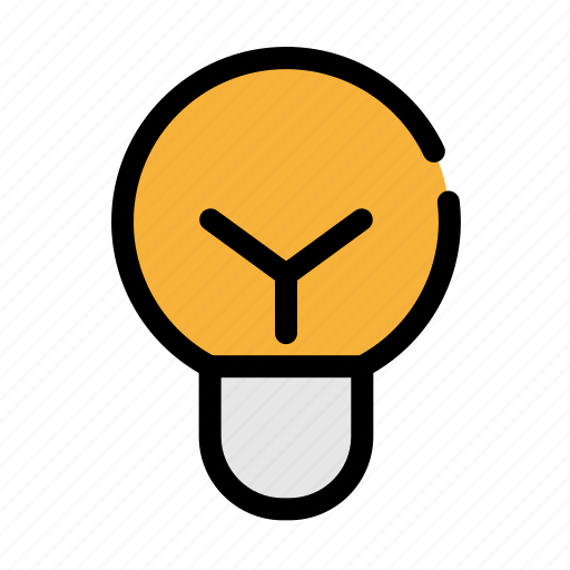 bulb, business, light, office icon
