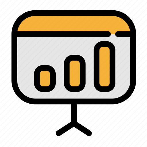 business, chart, diagram, office, statistics icon