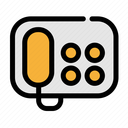 business, call, office, phone, support icon
