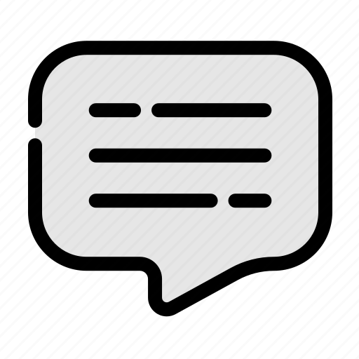 bobble, business, chat, office, speak icon