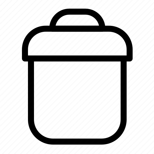 business, office, trash icon