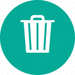 can, device, office, trash icon