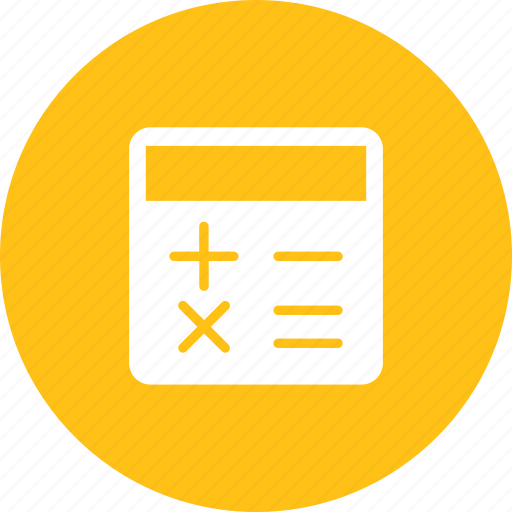 calculate, device, office, work icon