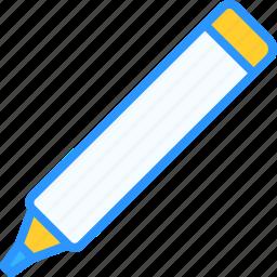 equipment, job, marker, office, work, workspace icon