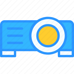 equipment, job, office, projector, work, workspace icon