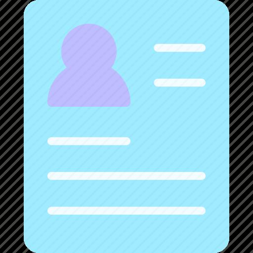 Curriculum, equipment, job, office, work, workspace icon - Download on Iconfinder