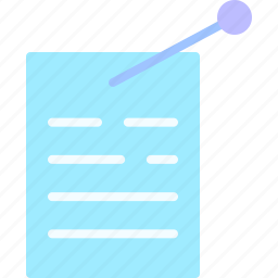 equipment, job, notes, office, work, workspace icon