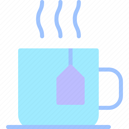 equipment, job, office, tea, work, workspace icon