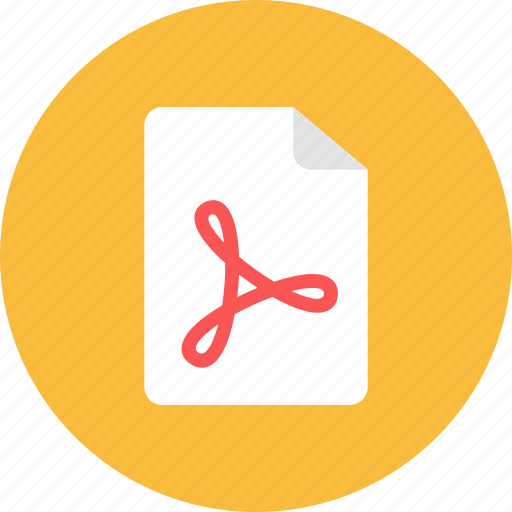 acrobat, file icon