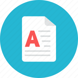 article, file icon