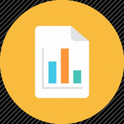 file, graph icon
