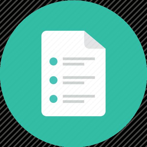 File, list icon - Download on Iconfinder on Iconfinder