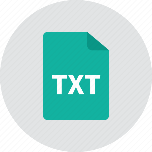 file, txt icon