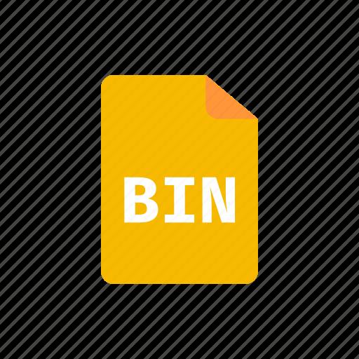bin, file icon