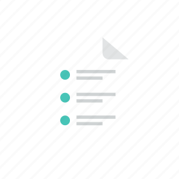 file, list icon