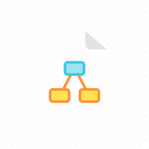 file, mindmap icon